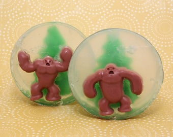 Handmade Glycerin and Shea Butter Soap - Bigfoot Soap // Gifts for Her