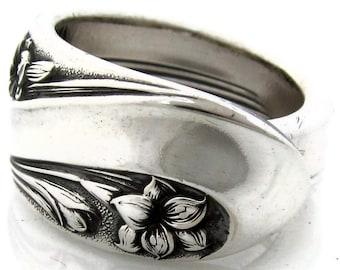 Spoon Ring Romance Deep Silver