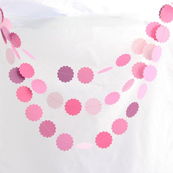 Party Garland - Lovely Pink Valentine