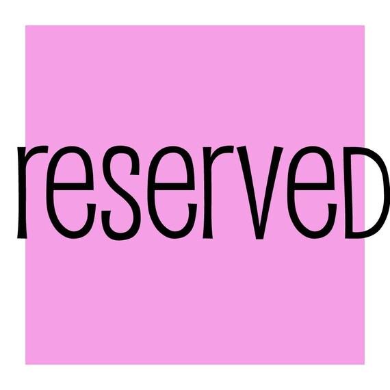 reserved for matthewjblazek