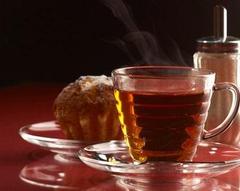 Tea Vanilla Black Loose Leaf Hand Blended Tea 4 ounces