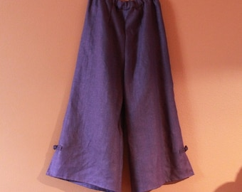 custom heavy linen  asian  peasant pants made to fit listing