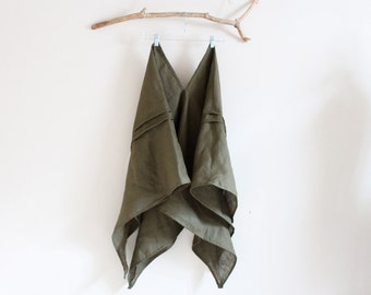 unique eco linen blouse swallow made to order in USA