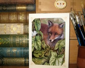 Red is the Fox card by Valerie Greeley