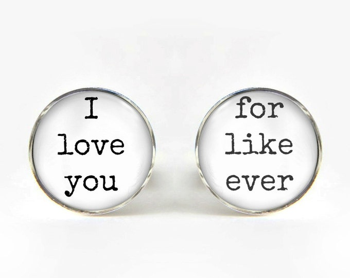 Groom Wedding Cufflinks silver 18mm cuff links Gifts for him