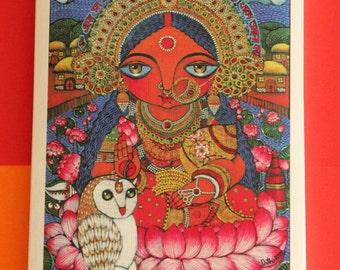 Maa Lakshmi (Goddess of wealth) II MINI print