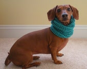 Dog Neck Warmer, Knit Cowl PDF PATTERN, Small, Medium and Large Sizes - CraftyMJC