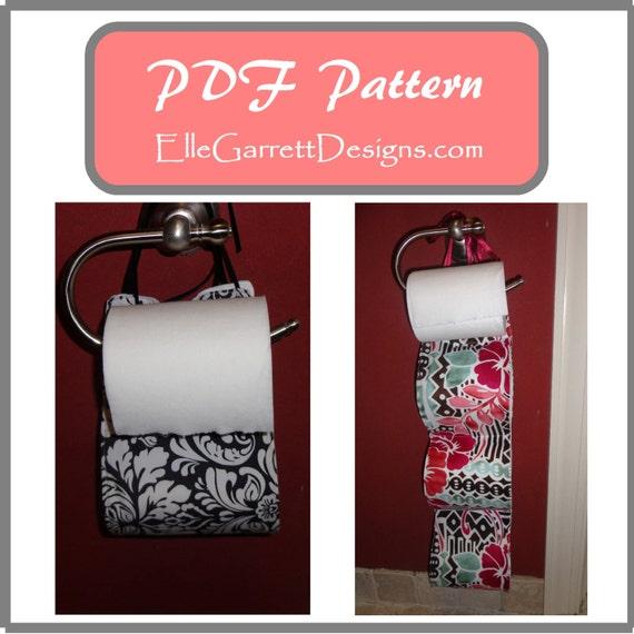 PDF Pattern - Toilet Paper Holder