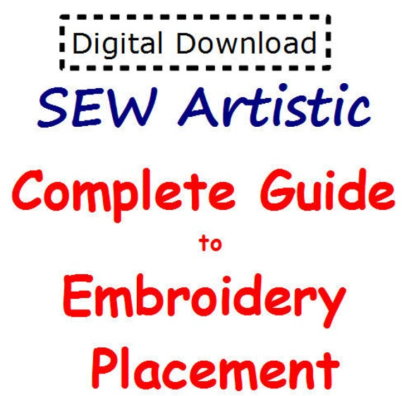 Complete guide to embroidery placement pdf file by juliasew for Embroidery placement on t shirts