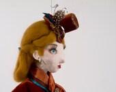 SALE Lady Rosalyn Ponsenby-Smythe - ooak handmade art doll