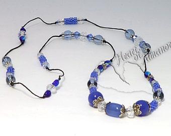 Blue Sky Necklace Handmade