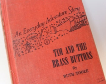 1953 edition Tim And The Brass Buttons Childrens Book