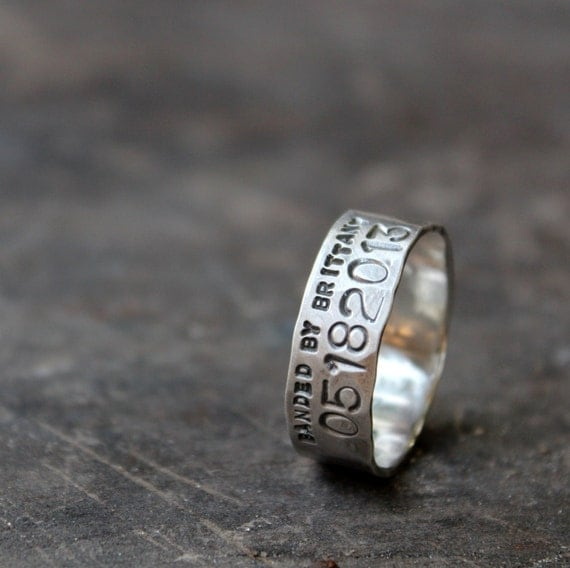 duck band wedding ring for men and women unisex personalized With duck band wedding rings for men