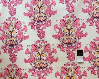 Tina Givens SATG003 Lilliput Fields Vintage Ivory Cotton HOME DECOR Fabric 1 Yard