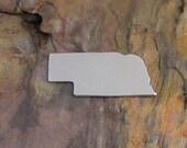 "5 Deburred 18G Aluminum 1 1/4"" X 1/2""  NEBRASKA Stamping Blanks"