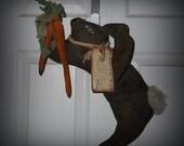 Spring Bunny Door Doll
