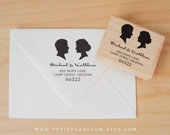 Custom Rubber Stamp - Silhouette