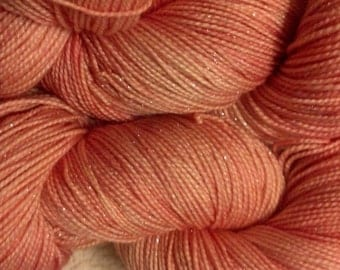 Peach - Huggybear Knits Hollywood Gold-- Fingering Weight