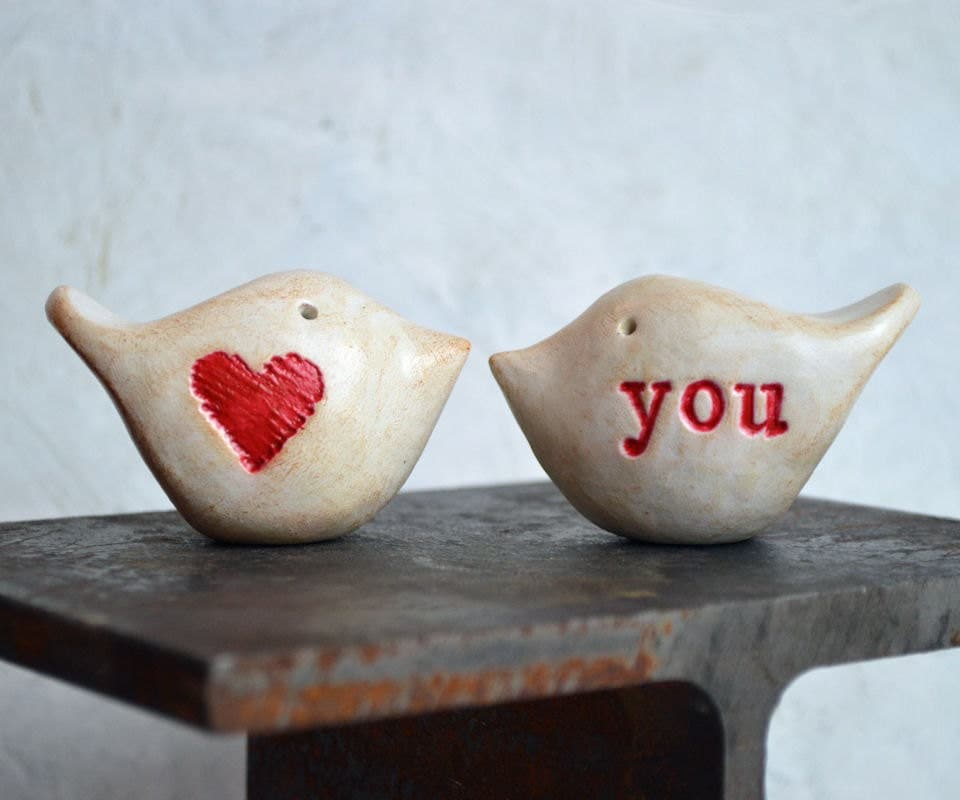wedding cake toppers love birds wedding cake toppers birds you clay by 26528