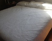 """Gold Fish Pond Whole Cloth Quilt Queen/King Size 99""""x108"""""""