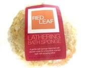 Lathering Bath Sponge Drenched With Vegan Glycerin Soap, Great Gift Basket Item