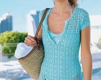 MADE TO ORDER  summer crochet dress  RI24