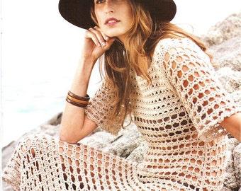 MADE TO ORDER  summer crochet dress  RI26