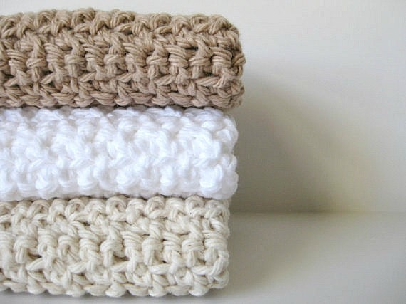 Google Crochet Pattern Central : Items similar to cotton crochet dishcloths AND you can ...