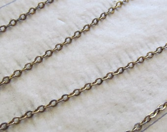 "Vintage 18"" 12Kt. Gold Filled Delicate Beautiful Chain"