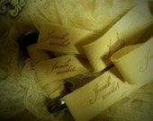 French Market Trim - Hand Stamped Distressed Ribbon