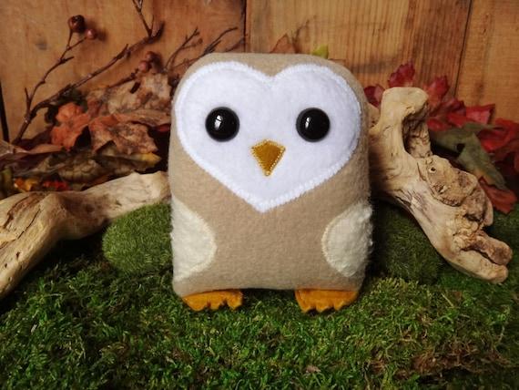 Barn Owl Nubbin - Made To Order