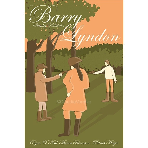 Barry Lyndon movie poster in various sizes