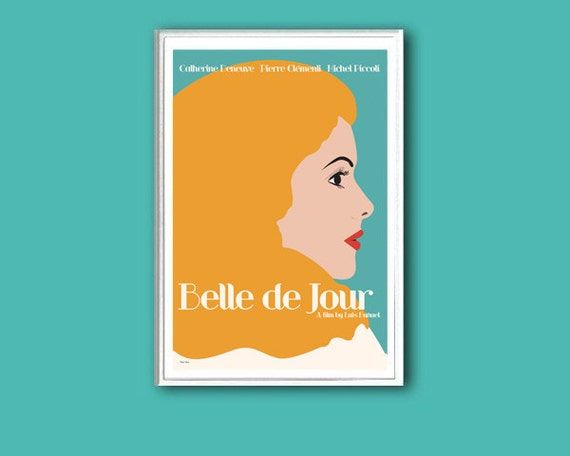 Belle de Jour 12x18 inches movie poster