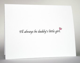 Funny Father's Day Card-  Father's Birthday Card- father's, dad, birthday, father's day, princess