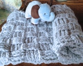 Crochet Pattern Baby Blanket Pattern...Beautiful, Soft, Luxurious, Decadent...A Tisket, A Tasket