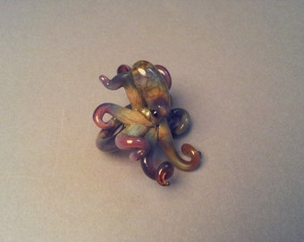 Octopus Jewelry Glass Ring