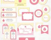Pink Cupcake Printable Collection