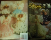 Barbie Angel Crocheting Patterns Fashion Doll Angels Annie's Attic 87D74 Crochet Pattern Leaflet