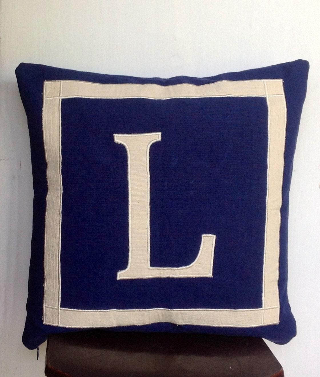Monogram A Pillow: 30% OFF Unique Gift Ideas For Women Monogram Pillows 18