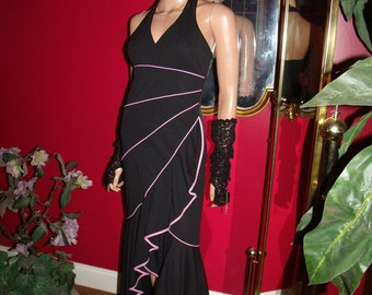 Vintage Dress Flapper Halter G. Gatsby does Tea Party Holiday 20-30s Theme Size 5/6