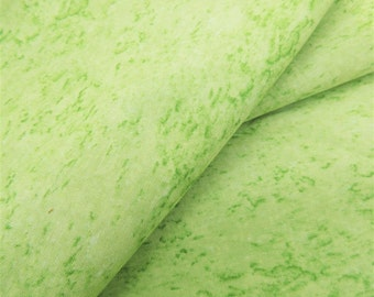 Celery-Lime Tonal Fabric-- ONE and THREE-QUARTER yards