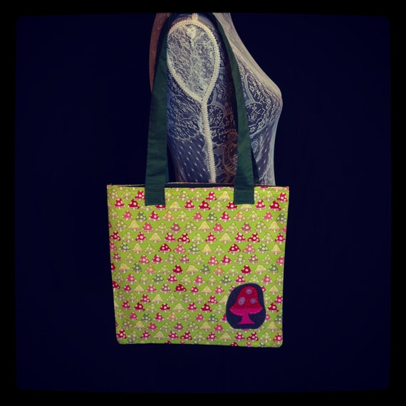 Reserved for Rachel-Toadstool Tote