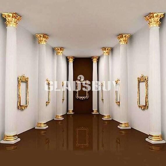 Indoor Pillars indoor pillars 10ft x 10ft wedding backdrop computer printed