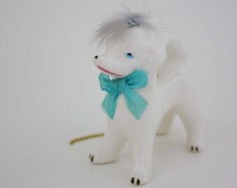 Vintage Poodle Figurine