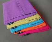 """iPad mini Case/Kindle Cover. Made to order for 7-8"""" tablets. Neon and Colorful."""