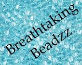 Swarovski Beads Crystal Bead 24 Aquamarine 6mm Bicone 5328 Many Colors In Stock
