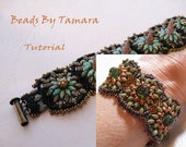 Squash Blossom GumDrop or Spike and/or Swarovski Crystal Pearl Bracelet PDF Tutorial