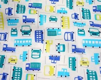 cars Print  Japanese fabric Half Meter  nc35