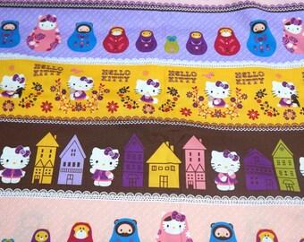 Hello Kitty Fabric Matroyska 1 meter   A3