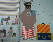 Pillow Panel and FQ SET - Aviator Donkey
